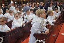 Ruszyli do Pierwszej Komunii Świętej