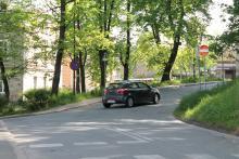 Zamieszanie na jednokierunkowej ulicy