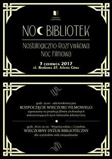 W bibliotece Nostalgiczno – Rozrywkowa Noc Filmowa