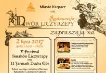 Festiwal Smaków Liczyrzepy już wkrótce