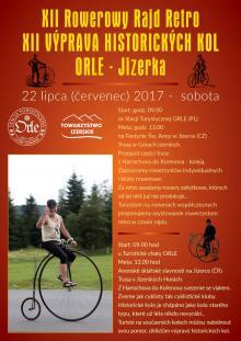 Rowerowy Rajd Retro ORLE – Jizerka 2017