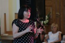 Elżbieta Jaworowicz w Cieplicach o swojej pracy