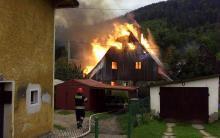 Spłonął dom w Piechowicach