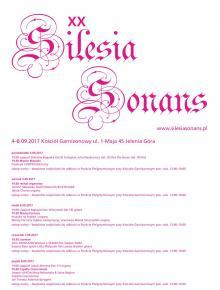 """XX Festiwal """"Silesia Sonans"""" od poniedziałku"""