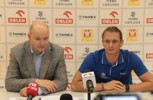 Miłosz Sajnog (po lewej) i Grzegorz Leszek zapraszają jeleniogórzan do wzięcia udziału w mistrzostwach i do kibicowania.