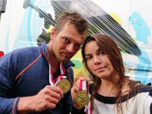 Tomasz Czaplicki i Zofia Tuła. Fot. Archiwum własne