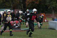 Emocjonujące zmagania strażaków ochotników
