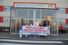 Jeleniogórscy lekarze popierają protest