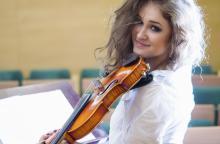 Gwiazdą wieczoru będzie skrzypaczka Anna Malesza