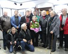 ZPAF i JTF żegnali koleżankę tortem i kwiatami