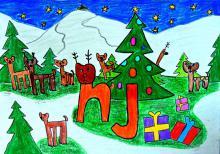 """Michalina Jaros (6 lat) - I nagroda w ubiegłorocznym konkursie """"Święta z Nowinami"""""""