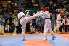 Pucharowe medale karateków