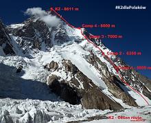 Rafał Fronia już pod K2