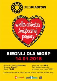 Bieg na nartach dla Orkiestry Owsiaka