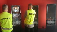 Kolejne automaty do gier zabezpieczone przez policję