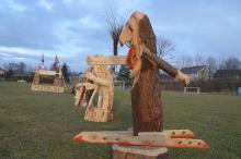 Olimpijska wioska w Łomnicy