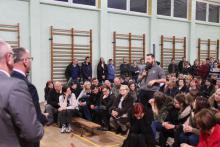 Protest rodziców i uczniów przyniósł skutek - Zespół Szkół Przyrodniczo-Usługowych nie zostanie zlikwidowany.