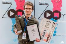 """Nagrodę za najlepszy film fabularny otrzymał Balázs Dudás (Węgry) za film """"Welcome"""""""