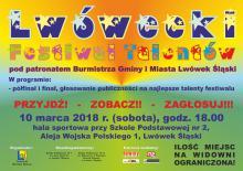 Finał Lwóweckiego Festiwalu Talentów 2018 już w sobotę!