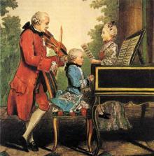 Muzyka czasów fraka i peruki dla najmłodszych