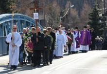 Ostatnia droga byłego proboszcza parafii w Piechowicach