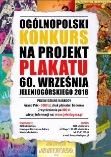 Konkurs na plakat 60. Września Jeleniogórskiego