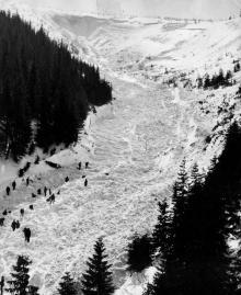 Lawina 1968 - Fot. archiwum GOPR