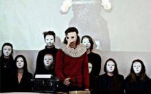 """27 marca o 17.00 w BWA uczniowie Liceum Plastycznego w Jeleniej Górze zaprezentują etiudę teatralną """"Vasari versus Vauxcelles"""""""