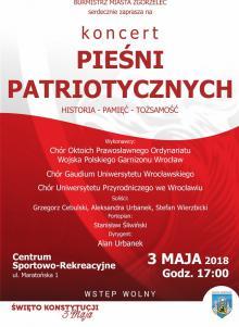 3 maja koncert pieśni patriotycznych w Zgorzelcu