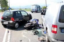 Na skrzyżowaniu Lubańskiej i Trasy Czeskiej od lat dochodzi do wypadków i kolizji.