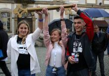 Studenci dostali klucz do miasta