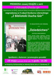 """Gala Konkursu Literackiego """"Z Biblioteki Ducha Gór"""""""