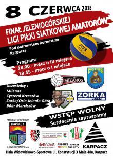 Amatorska liga siatkówki na finale
