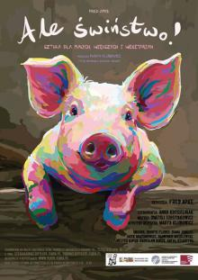 Bunt czterech świnek w Zdrojowym Teatrze Animacji