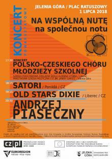 Młodzi Polacy i Czesi śpiewają gospel