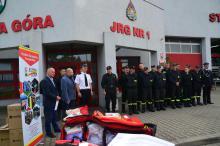 Strażacy ochotnicy mają nowy sprzęt