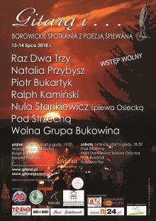 Dwa dni śpiewania na polanie w Borowicach