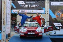 Rafał Zabuski i Adam Jaros startują w samochodowych mistrzostwach Polski