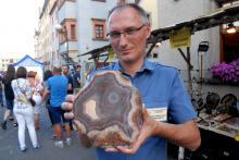 Nagrodę za najpiękniejszy agat XXI LLA otrzymał Krzysztof Sadowski