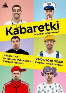 Kabaretowy wieczór w Karpaczu