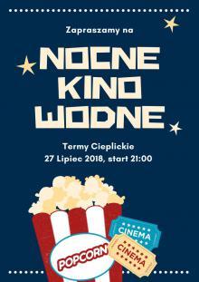 Nocne Kino Wodne w Termach Cieplickich