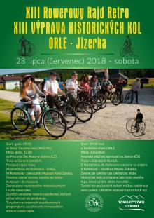 XIII Rowerowy Rajd Retro Orle-Jizerka już 28 lipca