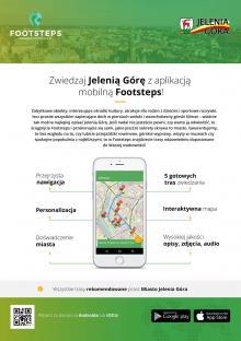 Poznaj Jelenią Górę z aplikacją mobilną Footsteps