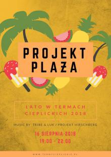 Projekt Plaża w Termach Cieplickich już dziś!