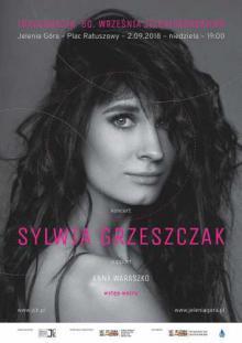 Sylwia Grzeszczak na inaugurację 60. Września Jeleniogórskiego