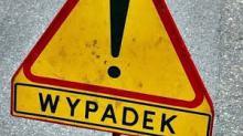 Wypadek. Droga do Karpacza była  zablokowana