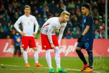 Dominik Jończy w piłkarskiej kadrze Polski U-21