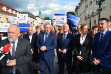 Schetyna, Nowacka i Szłapka w Jeleniej Górze