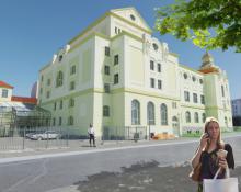 wizualizacja: Teatr im. C. K. Norwida