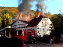 Pożar domu wielorodzinnego w Piechowicach (aktualizacja)